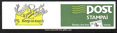 Sb26 (sg) 1984 Green-yellow-black ? Stamp Booklet