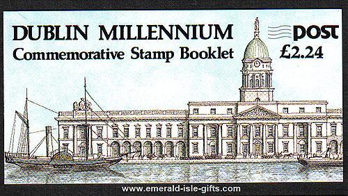 Sb30 (sg) 1988 Dublin Millenium £2.24 Booklet
