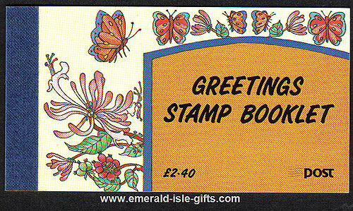 Sb42 (sg) 1992 Greetings Booklet ?.40 Booklet