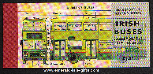 Sb47 (sg) 1993 Irish Buses ?.68 Booklet
