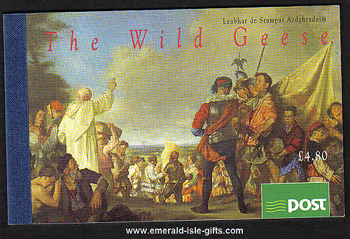 Sb52 (sg) 1995 The Wild Geese ?.80 Booklet