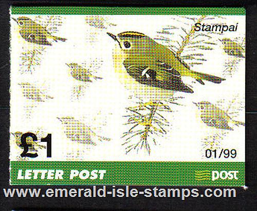 Sb70 (sg) 1999 £1.00 Goldcrest Booklet