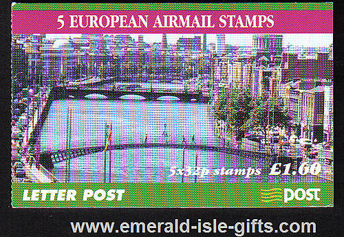 Sb71 (sg) 1999 European Airmail £1.60 Booklet