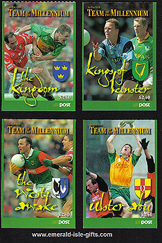 Sb73 (sg) 1999 Set Of 4 Football Team Of Mill Bklets