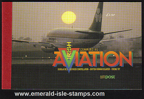 Sb77 (sg) 1999 Commercial Aviation 4.91 euro Booklet