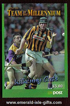 Sb81 (sg) Kilkenny Cats Hurling Team Millenium Booklet