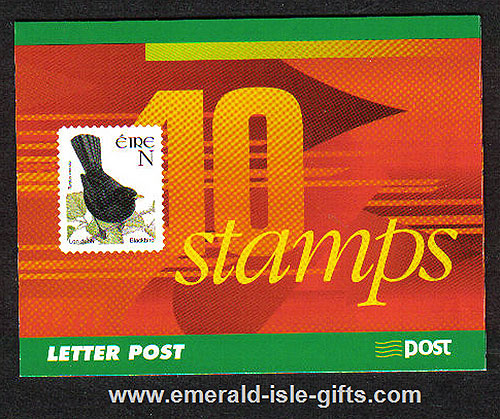 Sb90 (sg) 2001 Birds Booklet National Airmail