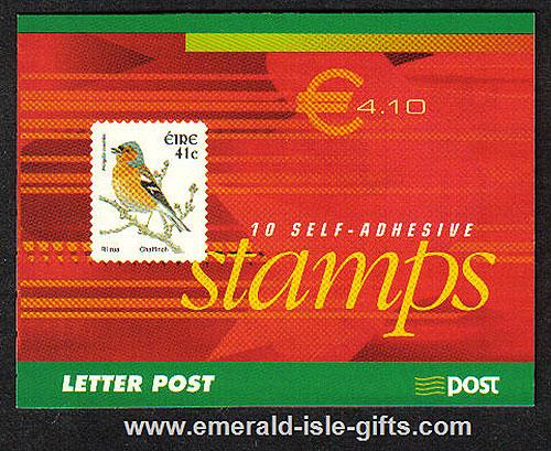 Sb97 (sg) 2002 Birds Self Adh 4.10 euro Booklet National