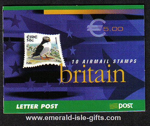 Sb105 (sg) 2003 Birds Airmail To Britain ?.00 Booklet
