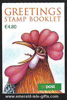 2005 Greetings Booklet Rooster €4.80