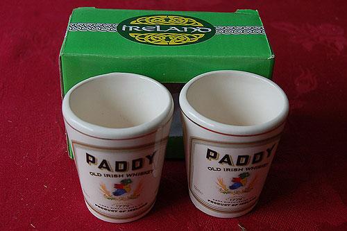 Paddy Irish Whiskey Shot Glasses (Set of 2)