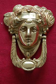 Brass Irish Liffey Failte Door Knocker