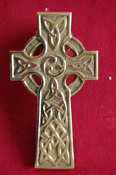 Celtic Cross Long Door Knocker