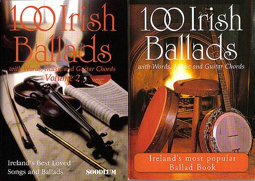 Ballads & Songbooks - 100 Irish Ballads Vol 1 & Vol 2