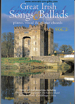 Great Irish Songs & Ballads Volume 2