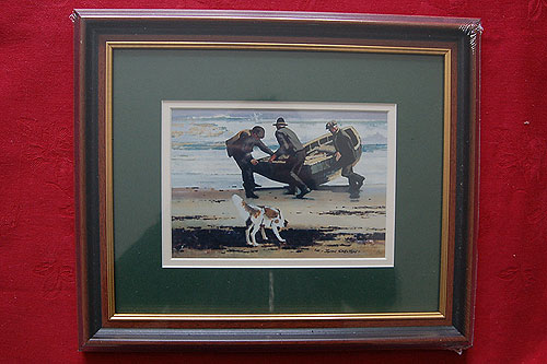 John Skelton - Atlantic Coast (Framed Reproduction)