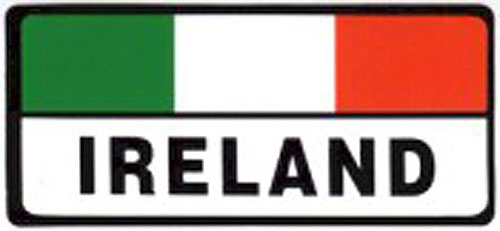 Ireland Tricolor Irish Car