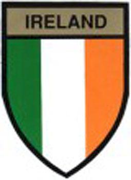 Ireland Tricolor (Car Sticker)