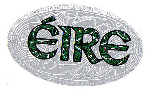 Eire Celtic Knotwork Irish Car