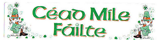 Céad Míle Fáilte Irish Welcome Car
