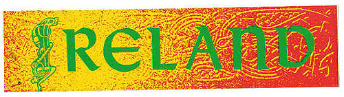 Ireland Multi Color Irish Car