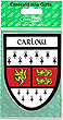 Carlow County Car Sticker