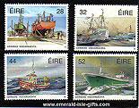 Ireland 1991 Fishing Fleet Mnh Set Of 4