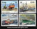 Ireland 1991 Fishing Fleet Used Set Of 4