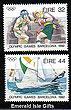 Ireland 1992 Olympics Barcelona Mnh Set Of 2