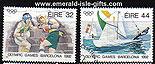 Ireland 1992 Olympics Barcelona Used Set Of 2