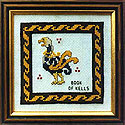 Book Of Kells Bird Cross Stitch (Pattern or Kit)
