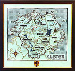 Ulster Cross Stitch Pattern / Kit