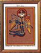 St Luke The Evangelist Book of Kells (Cross Stitch Pattern or Kit)