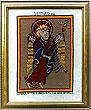 St Matthew Evangelist Book of Kells (Cross Stitch Pattern or Kit)