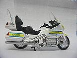 Irish Police Gardai Motorbike Honda