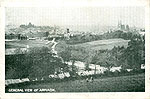 Armagh - Armagh Town - General View (old b/w Irish photo)