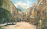 Armagh - Armagh Town - Main St (old colour Irish photo)