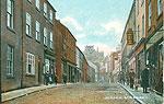 Armagh - Armagh Town - Scotch St (old colour Irish photo)