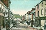 Armagh - Armagh Town - Thomas St (old colour Irish photo)