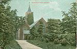 Armagh - Craigavon - Waringstown Church (old colour Irish photo)