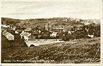 Armagh - Keady - Looking from Keady Hill (old b/w Irish photo)
