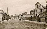 Armagh - Lurgan - Edward St (old b/w Irish photo)