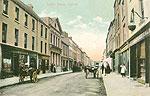 Carlow - Carlow Town - Dublin St (old colour Irish photo)