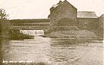 Carlow - Rathvilly - The Mills (old b/w Irish photo)