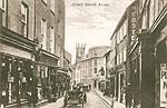 Clare - Ennis - Abbey St (old b/w Irish photo)