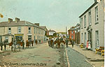 Clare - Lisdoonvarna - The Square (old colour Irish photo)