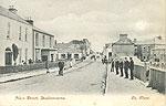 Clare - Lisdoonvarna - Main St (old b/w Irish photo)
