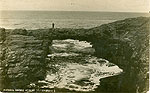 Clare - Ross - Natural Bridge at Ross (outer bridge)