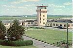 Clare - Shannon - Control Tower (old colour Irish photo)