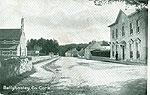 Cork - Ballyhooley - Village view (old b/w Irish photo)